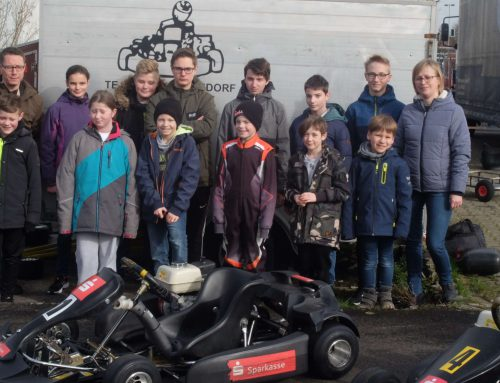 Trainingsauftakt der Jugendgruppe des AC Warendorf